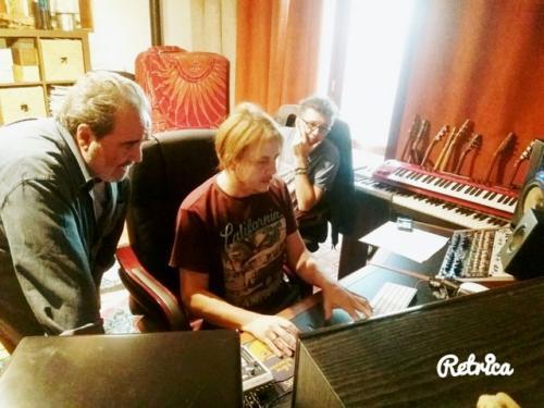 Con Paolo Vallesi e Beppe Dati